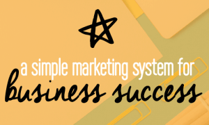 A simple marketing system for business success. 5 steps to improving your marketing and sales funnel. Entrepreneurs. Fabi Paolini Branding, brand strategy and design. Business coaching