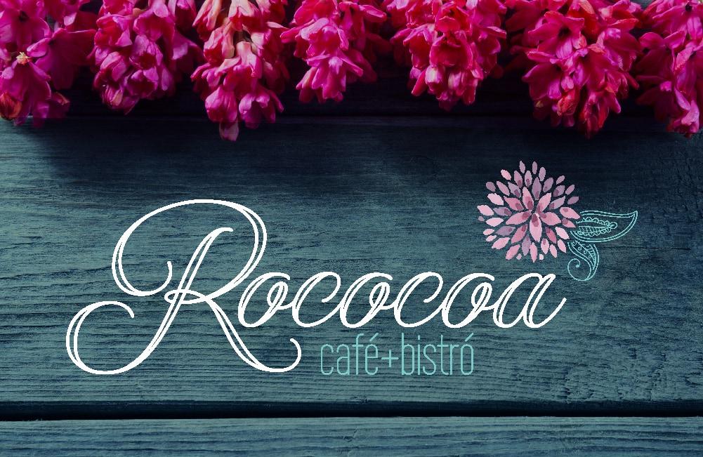 Rococoa Cafe image graphic design Aventura Florida