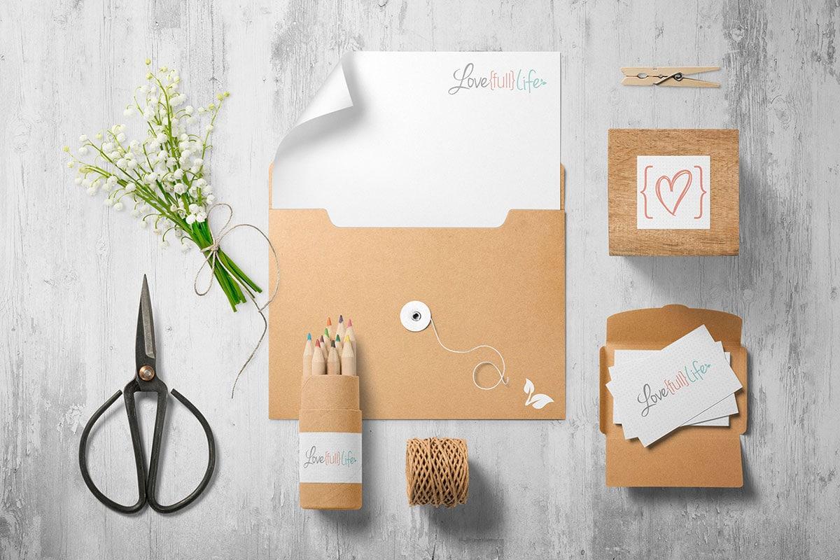 Love Full Life Branding Fabi Paolini