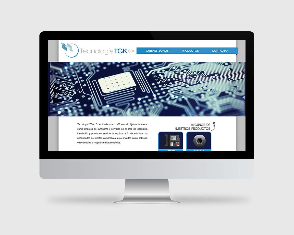 TGK Branding and logo web design Fabi Paolini