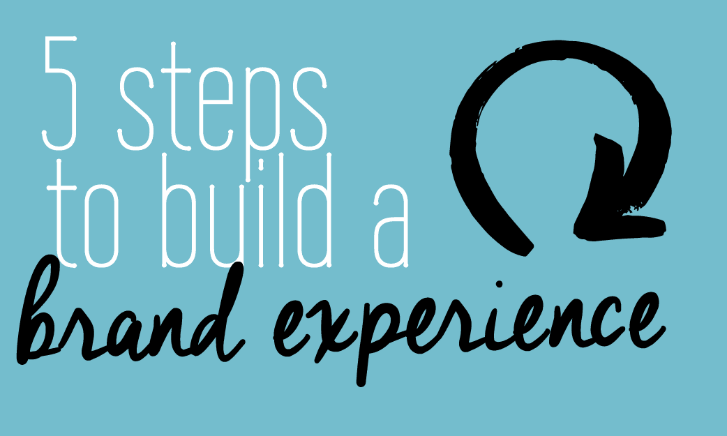 5 steps tu build a brand experience | Fabi Paolini | branding and design