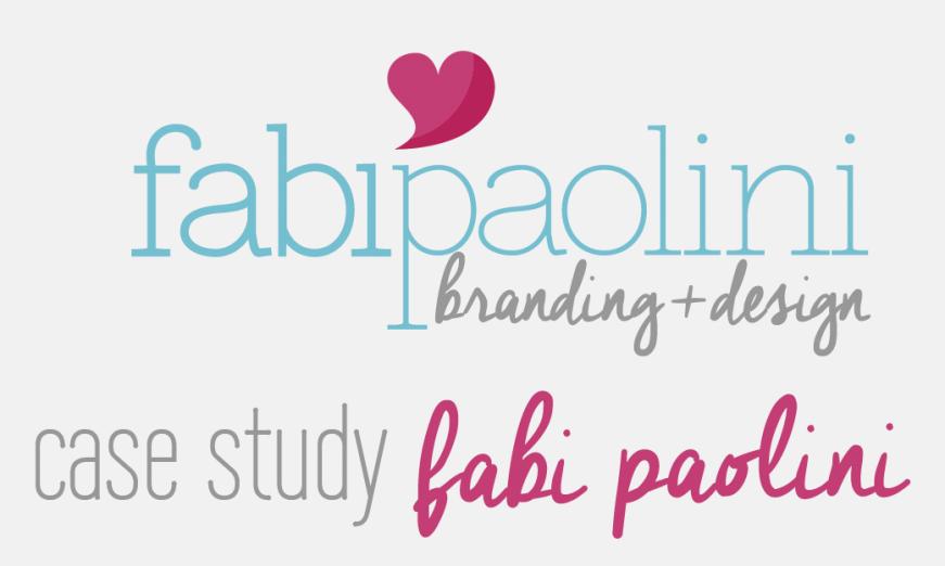Fabi Paolini Branding + Logo Design Logo Evolution Brand