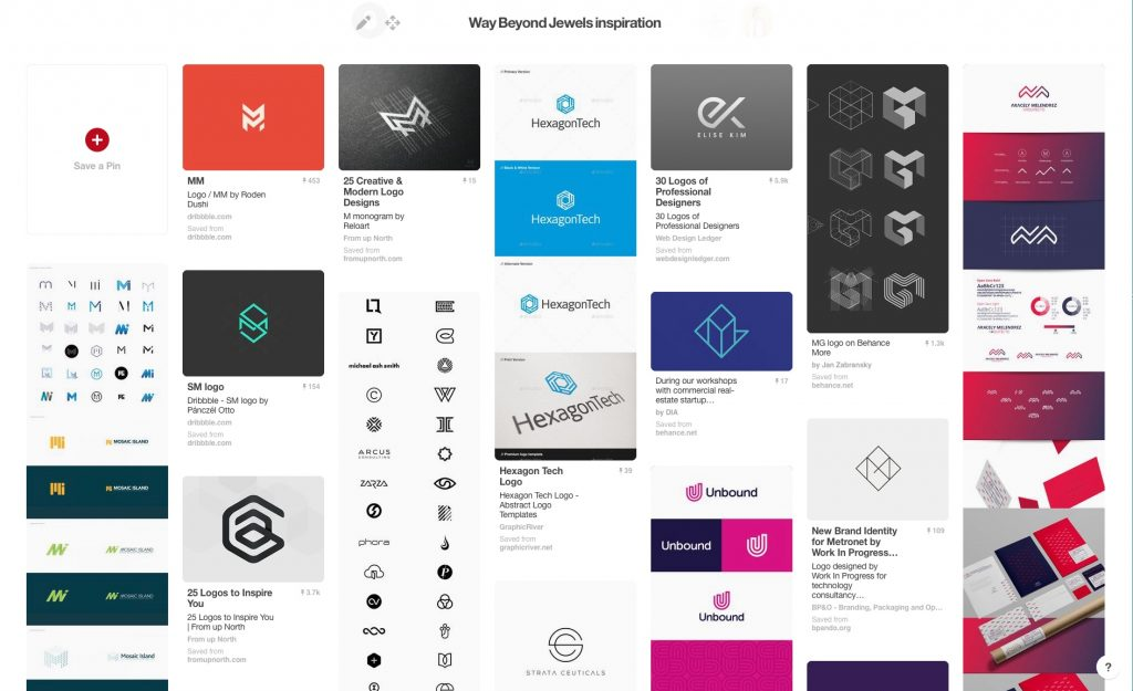 Fabi Paolini Pinterest Inspiration Board Branding + Design