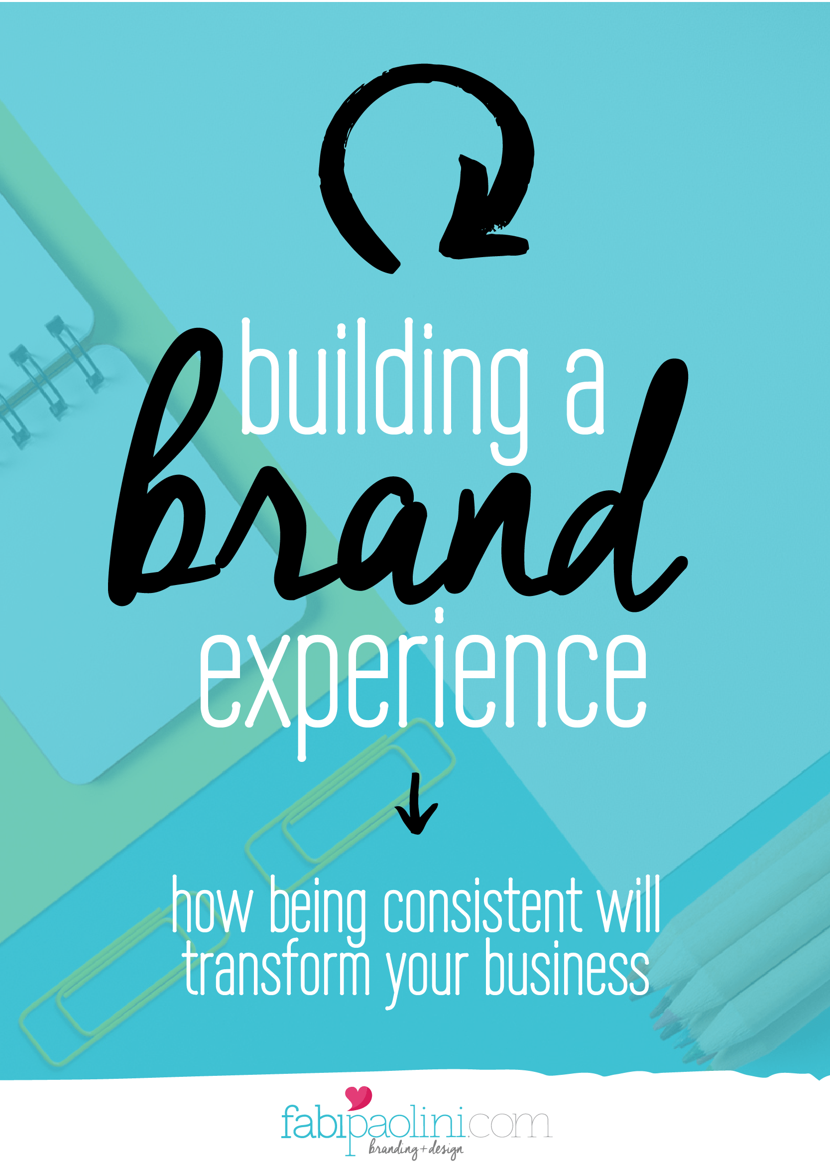 How to build a brand experience and why it can transform your business. Really cool guide inside with all the info you need to brand your biz. Check it out.