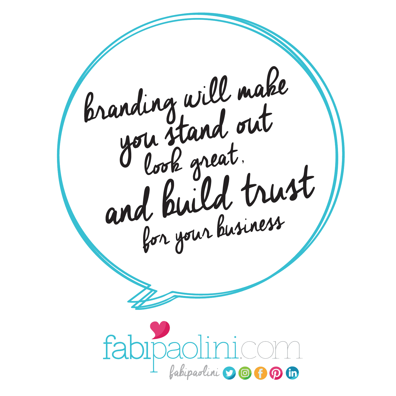 Entrepreneur tips, advice and inspiration: Branding will make you stand out, look great and build trust for your business. Click to read the rest!