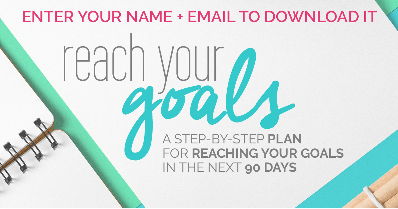 Reach your business goals. Guide. Fabi Paolini | Branding + Design + Entrepreneur