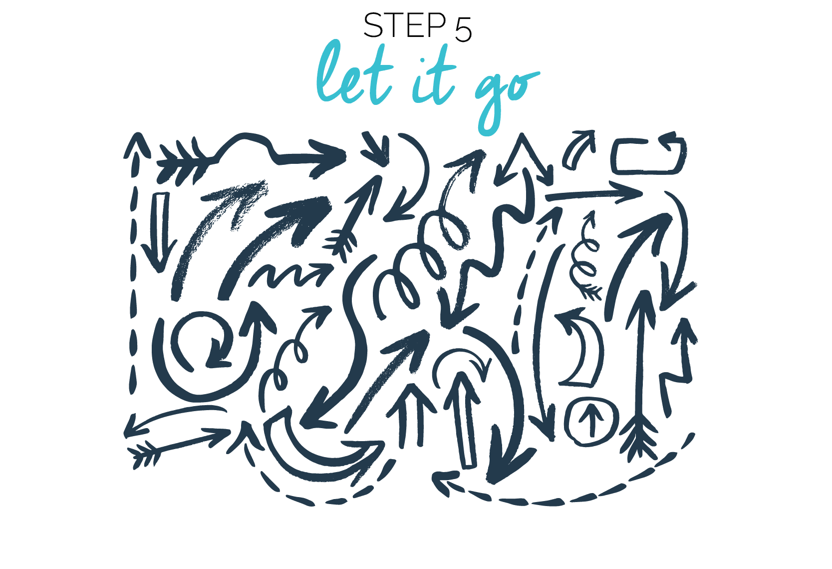 Step 5. Business goals. Let it go. Fabi Paolini | Branding + Design | Entrepreneur