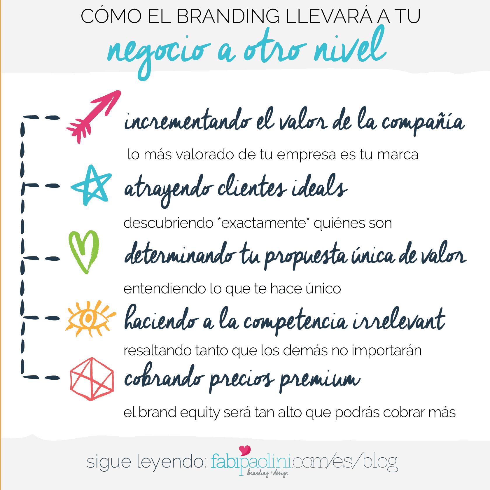 Cómo el branding llevará a tu negocio al próximo nivel. Por qué las compañías grandes están invirtiendo en branding y tú deberías también