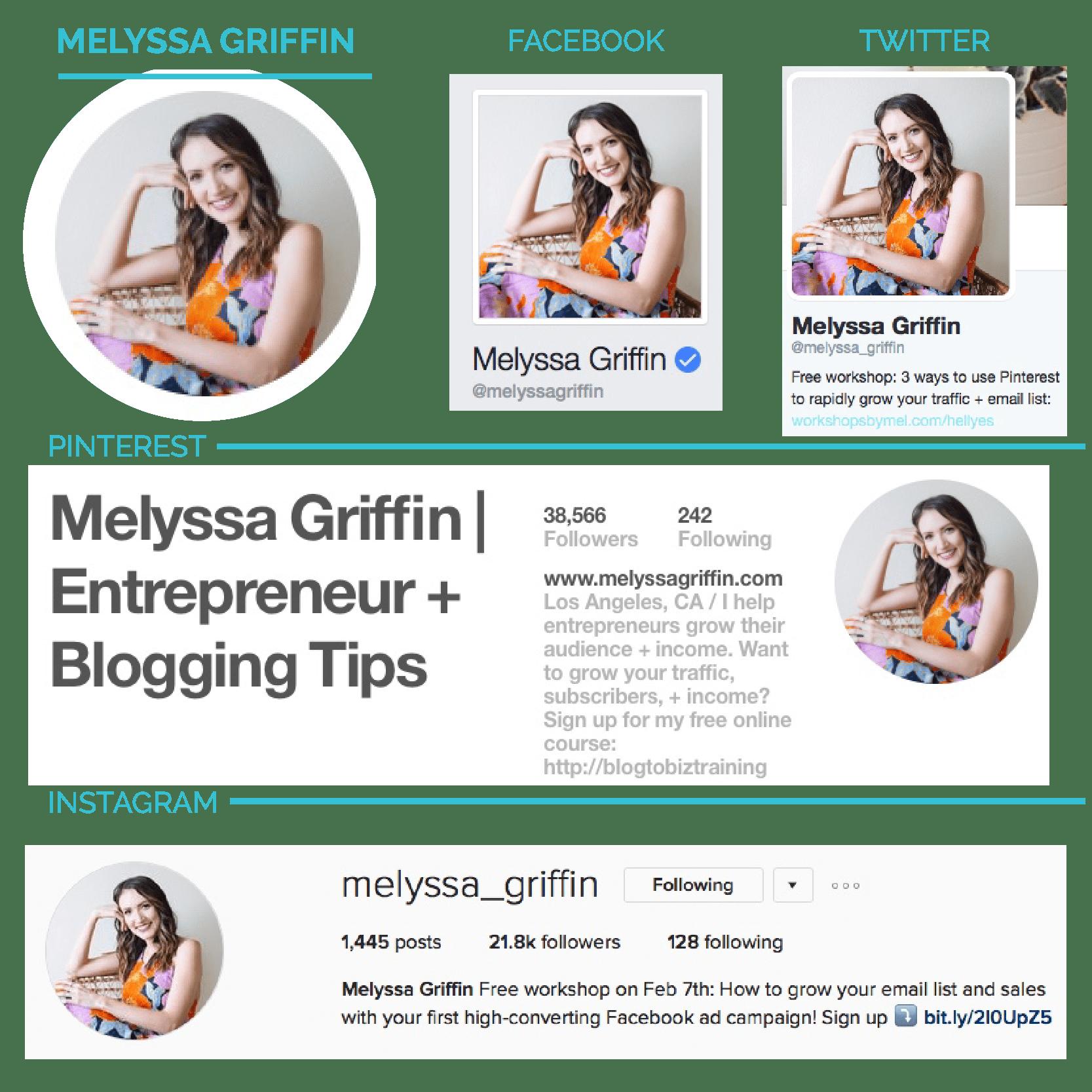 Social Media Brand Branding Strategy - Melyssa Griffin