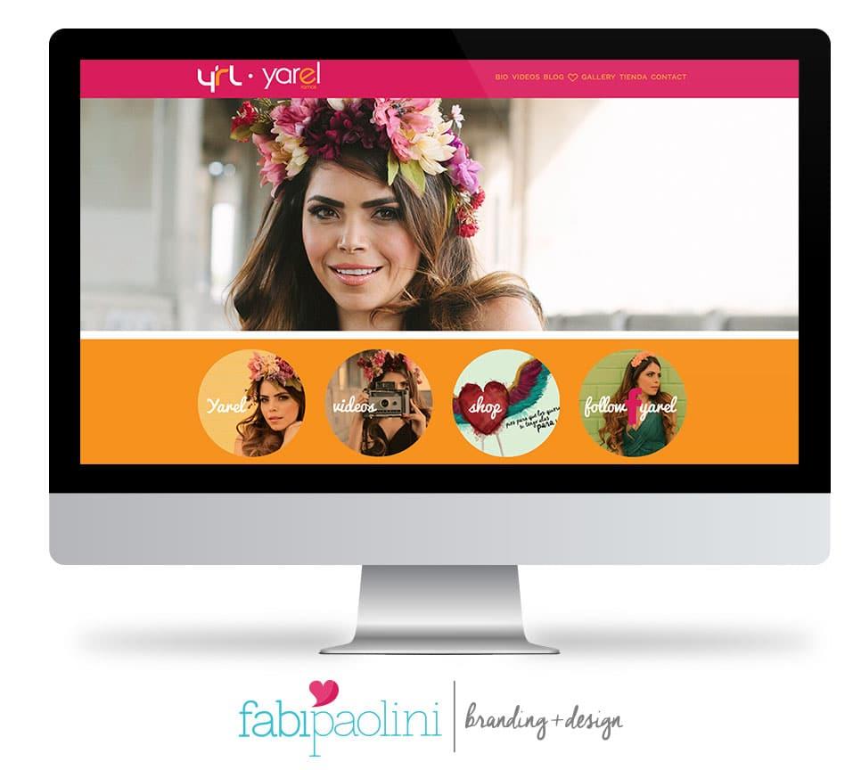 A great website design - Fabi Paolini