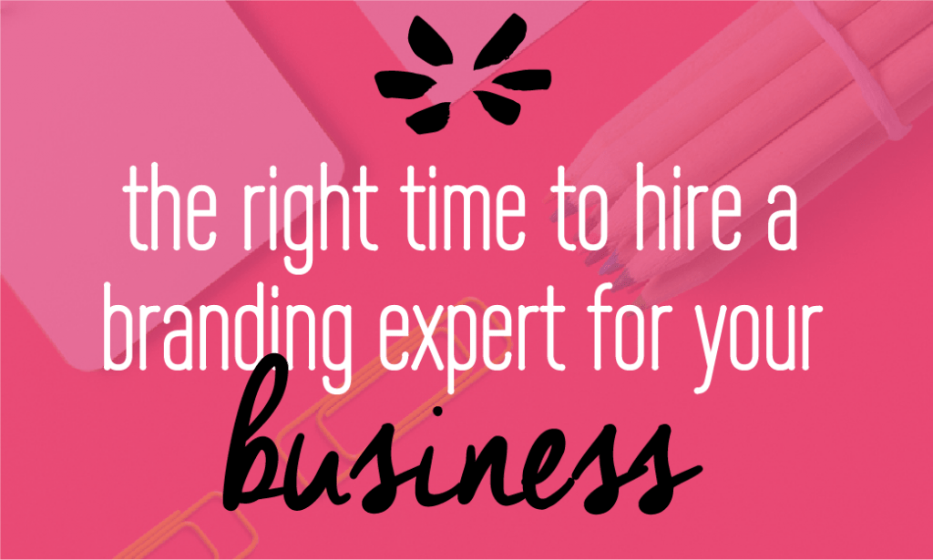 When should you hire a branding expert? Here are 5 signs. Click to read more! by Fabi Paolini