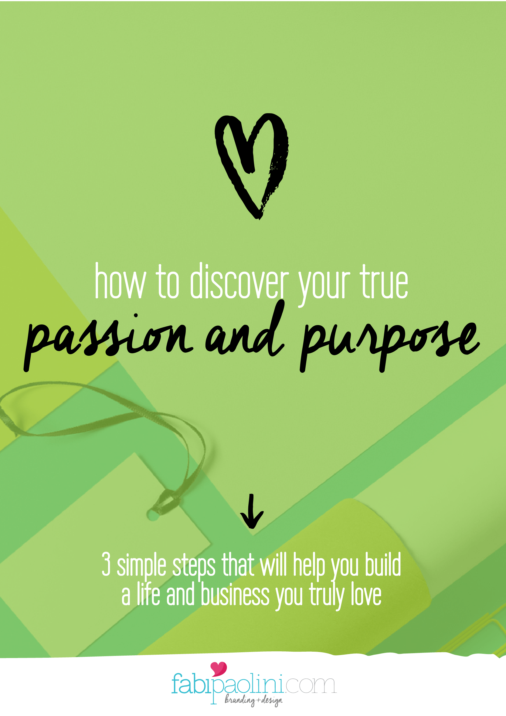 How to discover your true passion and purpose for your business and life. Branding and small business advice. Check it out