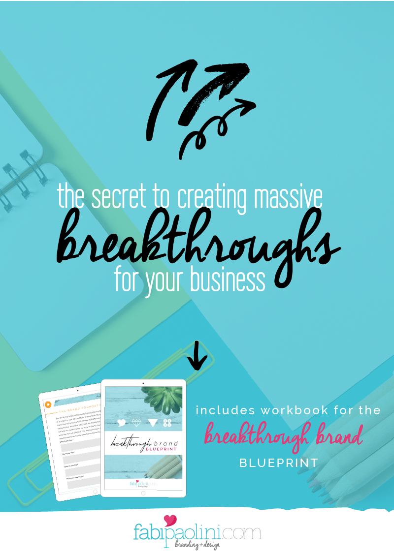 Build Breakthroughs in your business by using the brand strategy pyramid   Fabi Paolini   Brand strategy and design