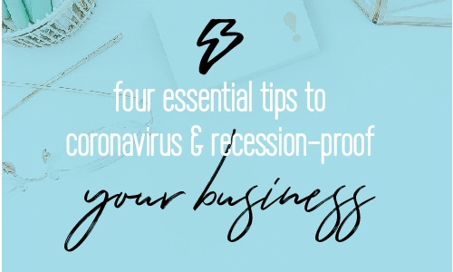 What can you do in order to prevent the Coronavirus from affecting your business? Here are 4 tips every business should follow to thrive during these times | Entrepreneur | Fabi Paolini | Online Business Coach