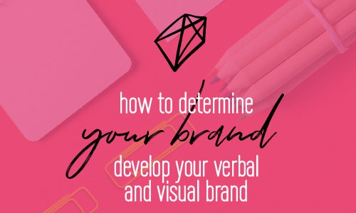 How to Determine Your Brand and develop your verbal and visual brand | Brand Strategy and design | Branding | Fabi Paolini