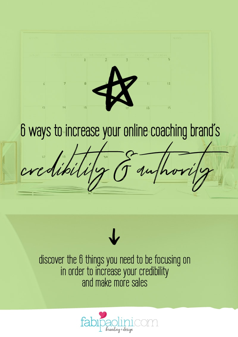 How to build your credibility online and establish or position yourself as an authority when you are starting out. Perfect for entrepreneurs and coaches. Fabi Paolini