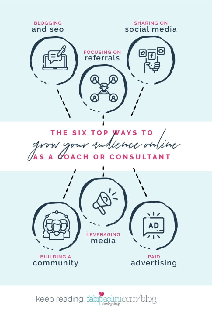 how to grow your audience online as a coach   Fabi Paolini Brand Strategy Marketing